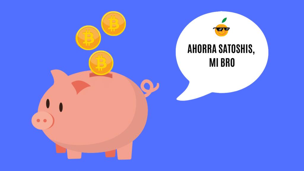 ahorrar en bitcoin