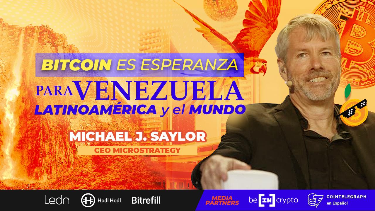michael saylor hablemos de bitcoin venezuela